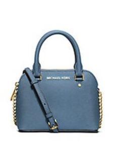 MICHAEL MICHAEL KORS Cindy Leather Dome Crossbody Bag