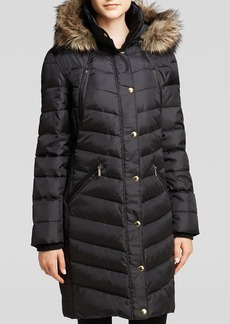 MICHAEL Michael Kors Coat - Quilted Ruched