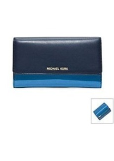 MICHAEL Michael Kors® Colby Leather Carryall Wallet