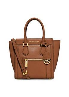 MICHAEL Michael Kors Colette Medium Messenger Bag, Luggage