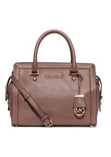 MICHAEL MICHAEL KORS Collins Leather Medium Satchel