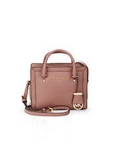 MICHAEL MICHAEL KORS Collins Medium Leather Crossbody Bag