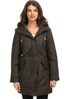 MICHAEL Michael Kors Cotton Anorak w/ Fly Front and Hood