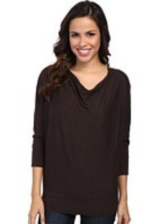 MICHAEL Michael Kors Cowl Neck Zip Shoulder Sweater
