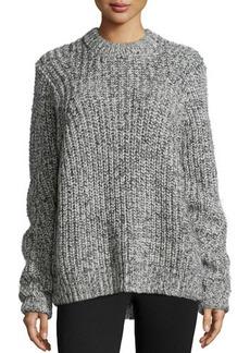 MICHAEL Michael Kors Crewneck Wool-Blend Sweater  Crewneck Wool-Blend Sweater