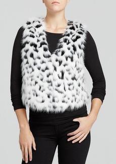 MICHAEL Michael Kors Cropped Faux Fur Vest