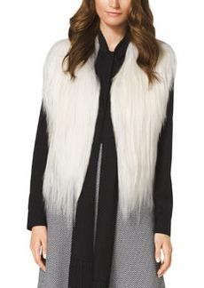 MICHAEL Michael Kors Cropped Goat Fur Vest
