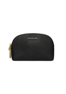 MICHAEL MICHAEL KORS Crosshatch Leather Cosmetic Bag