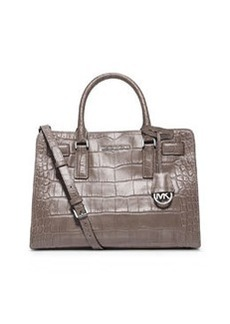 MICHAEL Michael Kors Dillon East-West Satchel Bag, Ash Gray