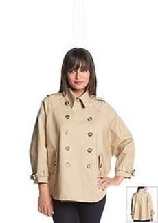 MICHAEL Michael Kors® Dolman Style Short Trench Coat
