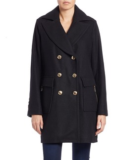MICHAEL MICHAEL KORS Double-Breasted Pea Coat