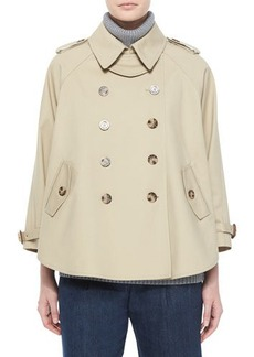 MICHAEL Michael Kors Double-Breasted Trenchcoat  Double-Breasted Trenchcoat