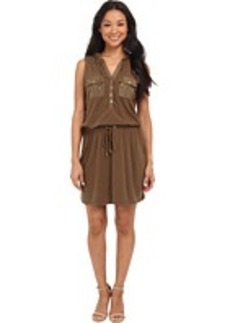 MICHAEL Michael Kors Drawstring Pocket Dress