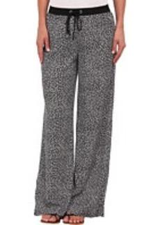 MICHAEL Michael Kors Easy Wide Leg Printed Pant