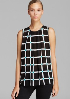 MICHAEL Michael Kors Ellington Pleat Top