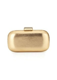MICHAEL Michael Kors Elsie Dome Evening Clutch Bag, Pale Gold