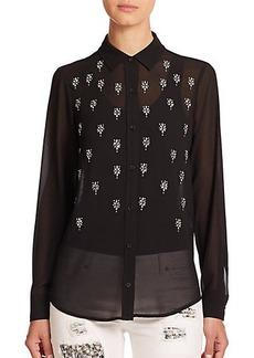 MICHAEL MICHAEL KORS Embellished Blouse