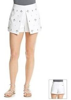 MICHAEL Michael Kors® Embellished Pleat Skort
