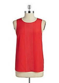 MICHAEL MICHAEL KORS Embellished Sleeveless Top