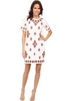 MICHAEL Michael Kors Embroidered T-Shirt Dress