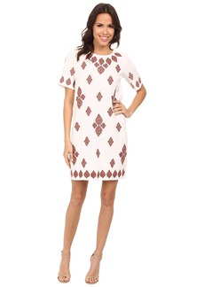 MICHAEL Michael Kors Embroidered T-Shirt Dress