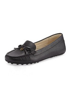 MICHAEL Michael Kors Everett Leather Moccasin, Black