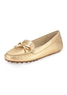MICHAEL Michael Kors Everett Metallic Moccasin, Pale Gold