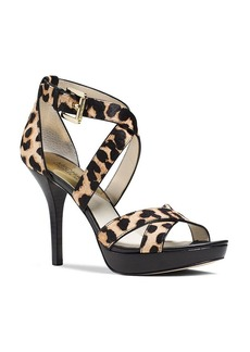 MICHAEL Michael Kors Evie Calf Hair Platform Sandals