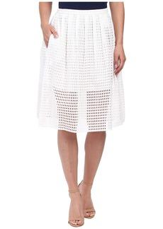 MICHAEL Michael Kors Eyelet Skirt