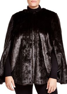 MICHAEL Michael Kors Faux Fur Cape