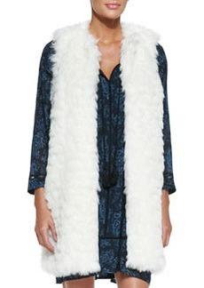MICHAEL Michael Kors Faux-Fur Long Vest