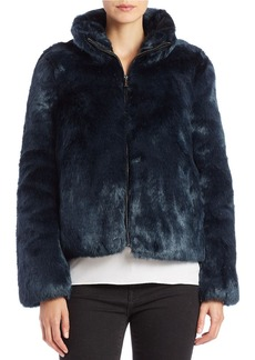 MICHAEL MICHAEL KORS Faux-Fur Zip-Front Jacket