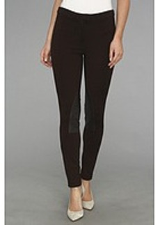 MICHAEL Michael Kors Faux Leather/ Knit Riding Pant