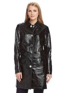 MICHAEL Michael Kors® Faux Leather Mackintosh
