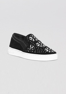 MICHAEL Michael Kors Flat Slip On Sneakers - Nadine