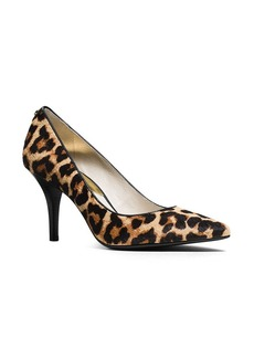 MICHAEL Michael Kors Flex Leopard Print Calf Hair Pointed Pumps
