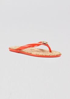 MICHAEL Michael Kors Flip Flops - Jet Set MK Jelly
