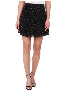 MICHAEL Michael Kors Floral Eyelet Circle Skirt