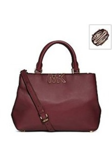 MICHAEL Michael Kors® Florence Leather Medium Satchel