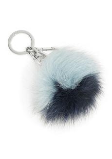 MICHAEL MICHAEL KORS Fox Fur Pom Pom Keyfob
