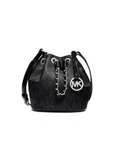 MICHAEL Michael Kors Frankie Drawstring Crossbody Bag, Black