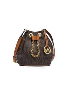 MICHAEL Michael Kors Frankie Drawstring Crossbody Bag, Brown