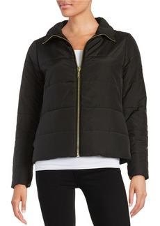 MICHAEL MICHAEL KORS Front Zip Puffer Coat