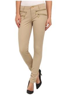 MICHAEL Michael Kors Front Zip Skinny Pant