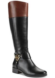 MICHAEL Michael Kors Fulton Harness Wide Calf Boots
