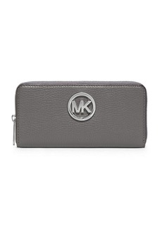 MICHAEL MICHAEL KORS Fulton Leather Large Continental Wallet