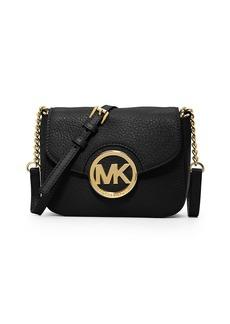 MICHAEL MICHAEL KORS Fulton Leather Small Crossbody Bag