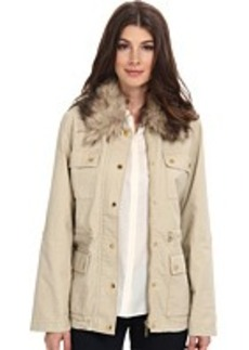 MICHAEL Michael Kors Fur Collar Anorak Jacket