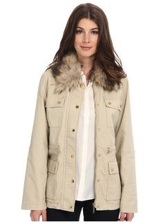 MICHAEL Michael Kors Fur Collar Anorak Jacket