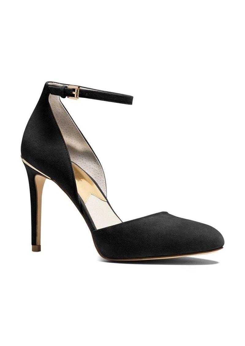 michael michael kors michael michael kors georgia ankle strap high heel pumps shoes shop it. Black Bedroom Furniture Sets. Home Design Ideas